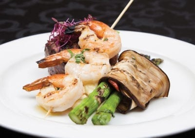 LIUNA Gardens Menu - Filet & Shrimp