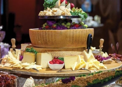 Gardens Menu - Supreme Antipasto Bar Cheeses