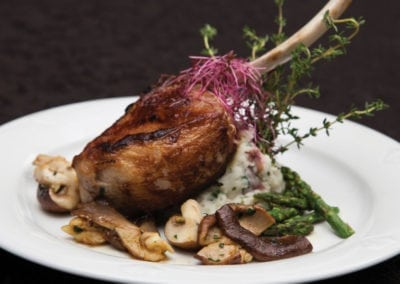 Station Gardens Menu - Roasted Chicken Supreme