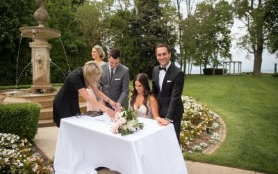 Fate, food and lots of fun! LIUNA chats with Nicole and Cristiano about their garden wedding!