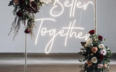 Trending themes for a dark and dreamy 2020 wedding!